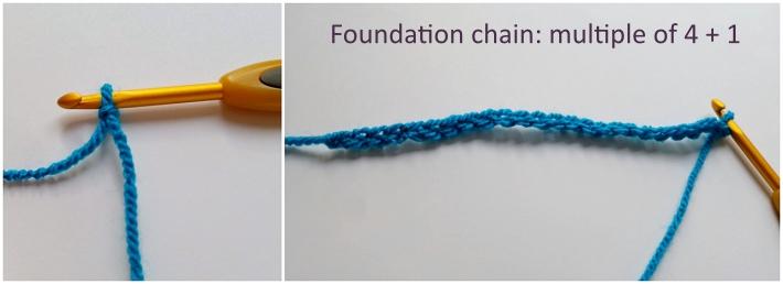 Larksfoot Stitch Starting Chain
