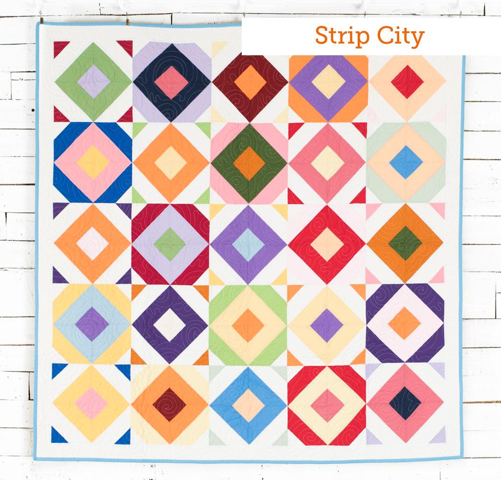Strip City Boundless Mixers Quilt Kit