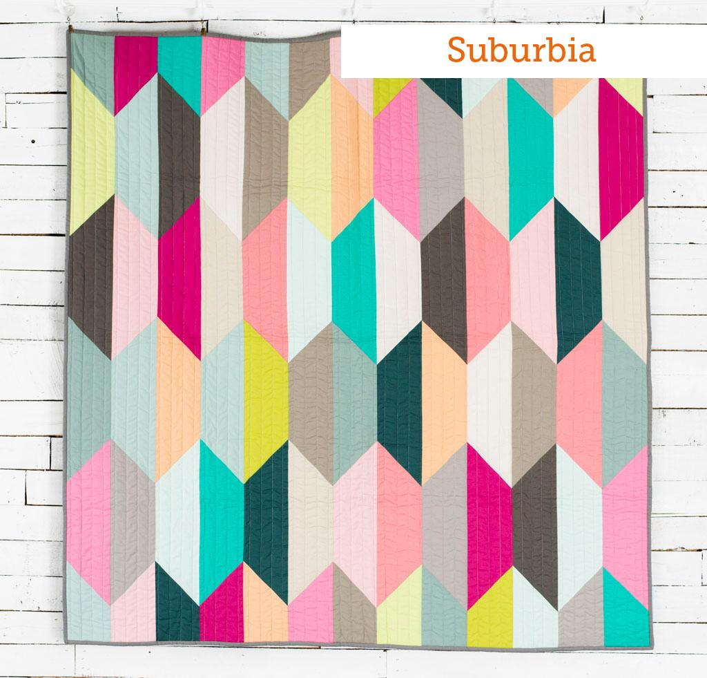 Suburbia Boundless Mixers Quilt Kit