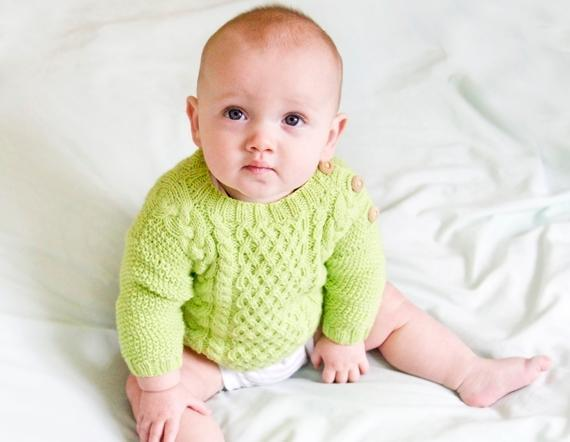Timberline Baby Sweater