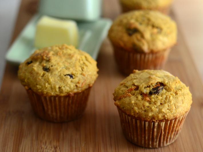 Homemade Fall Morning Muffins