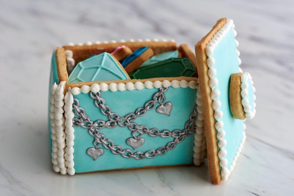 Metallic Cookie Box by Amber Spiegel