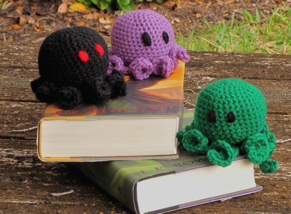 Opie the Octopus Crochet Pattern