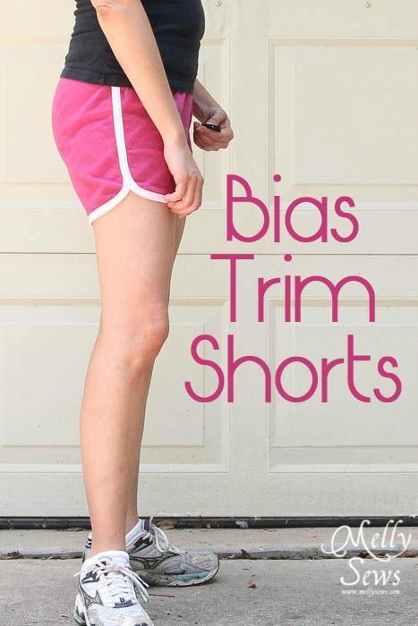 Bias Trim Shorts Sewing Pattern on Craftsy