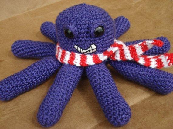 Hockey Octopus Crochet Pattern