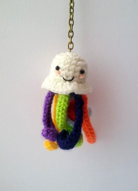 Octopus Keychain Crochet Pattern