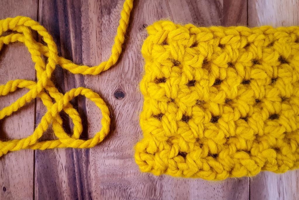 Half Double Crochet Cowl
