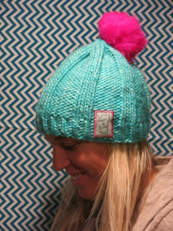 Skier Shelly FREE Hat Knitting Pattern