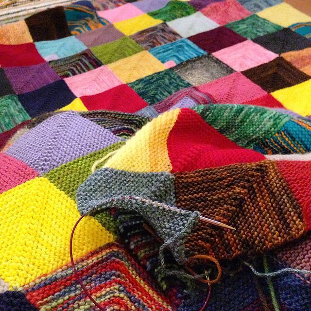 Memory Blanket FREE Knitting Pattern