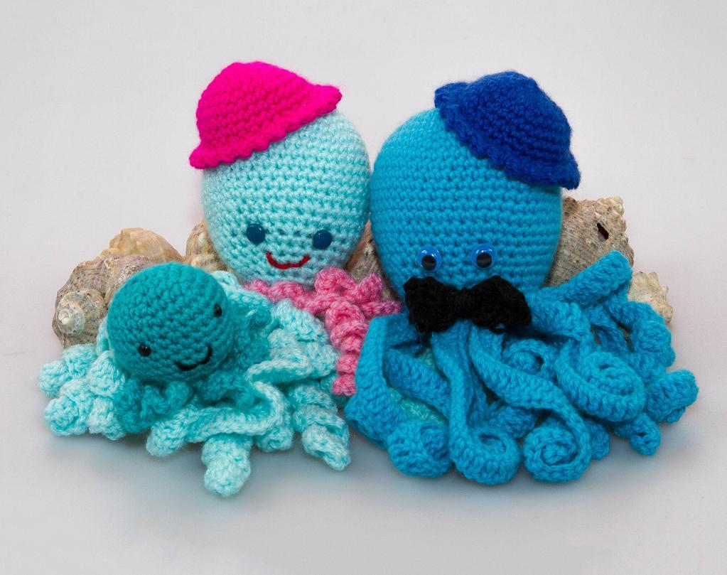 Child Octopus Crochet Pattern