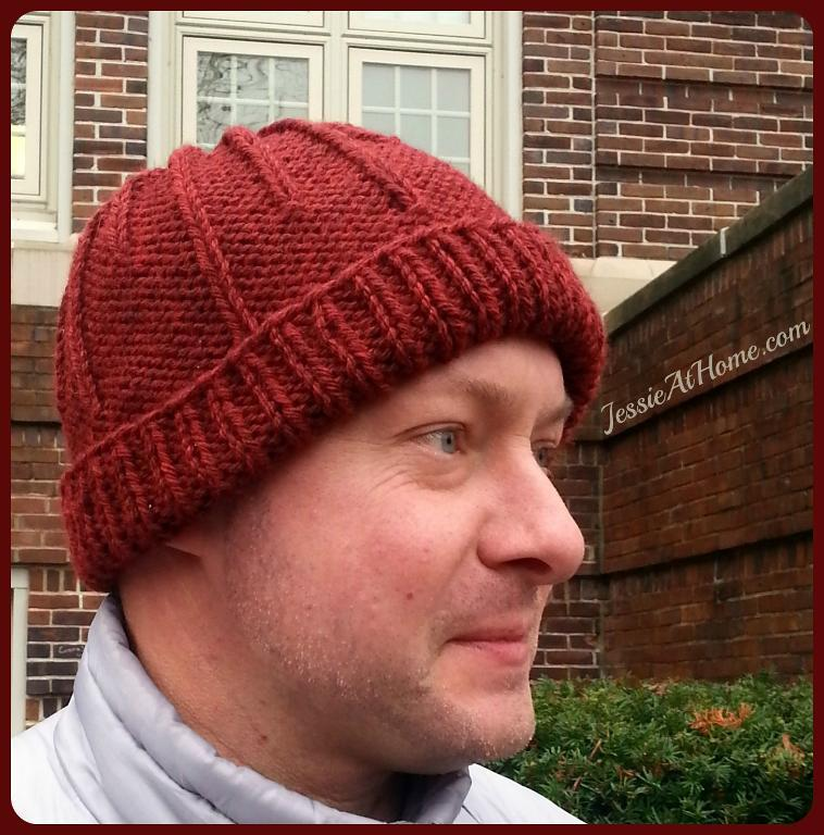 Matrix Hat FREE Knitting Pattern