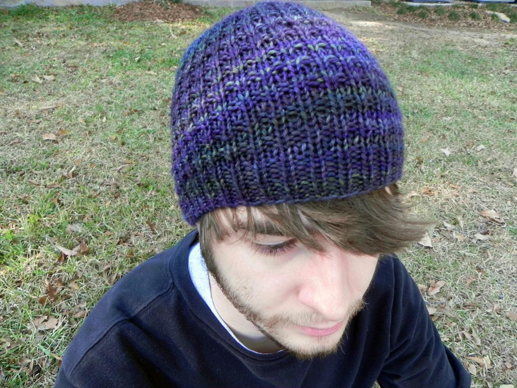 Dude Hat FREE Knitting Pattern