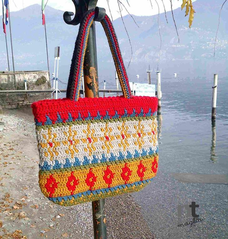 Alpine Tote Bag Crochet Pattern