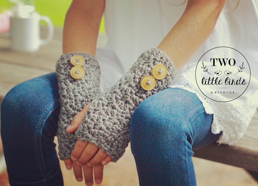 Stella Fingerless Gloves Crochet Pattern