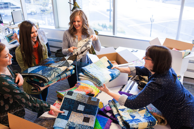 Charity Quilt Party