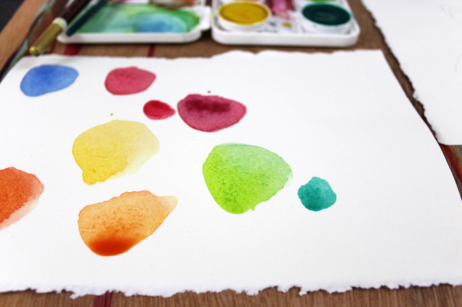 Selecting Abstract Color Palettes