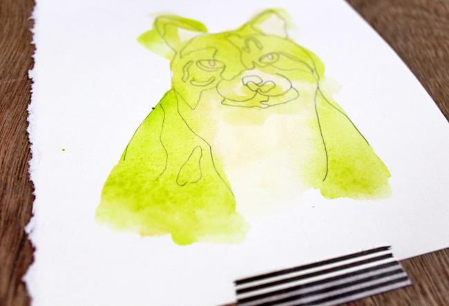 Adding Layers to Abstract Animal Art