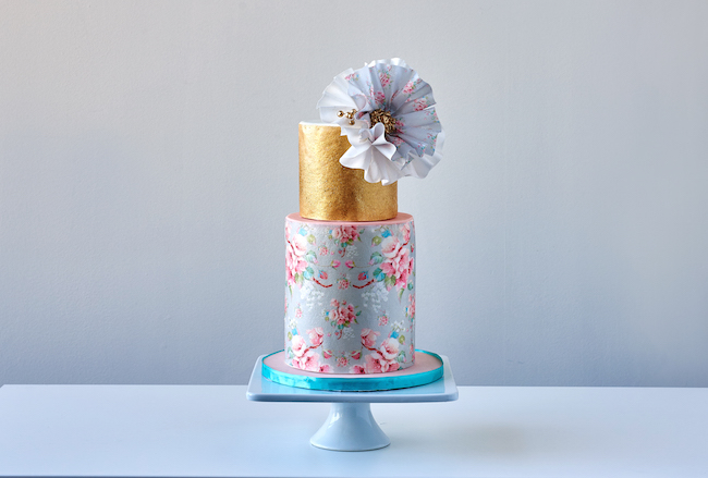 Fondant Fashionista Cake by Eva Salazar
