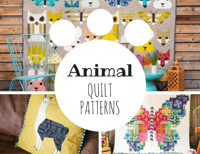 Animal Quilt Patterns on Craftsy!