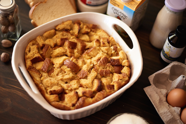 Eggnog Bread Pudding Recipe on Bluprint