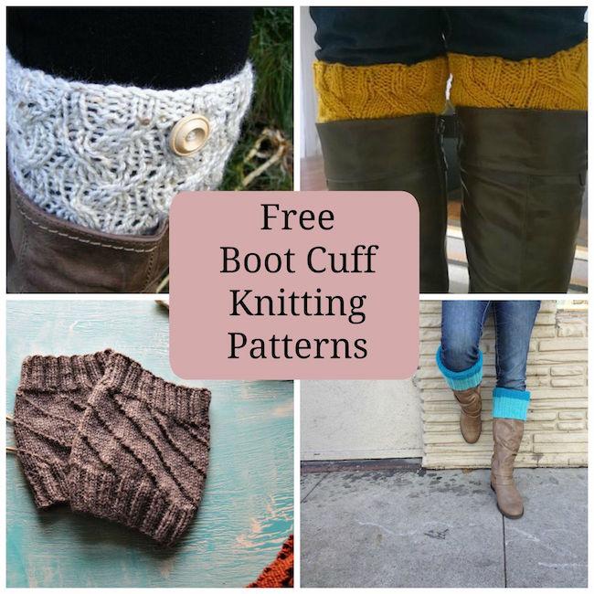Free Boot Cuff Knitting Patterns