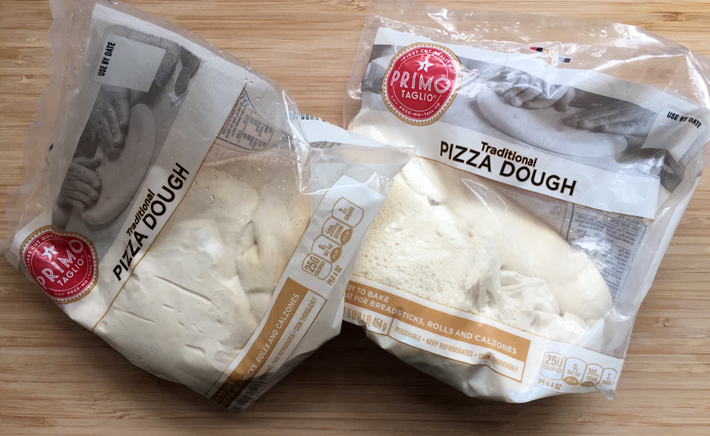 Two Packages of Pre-made Pizza Dough