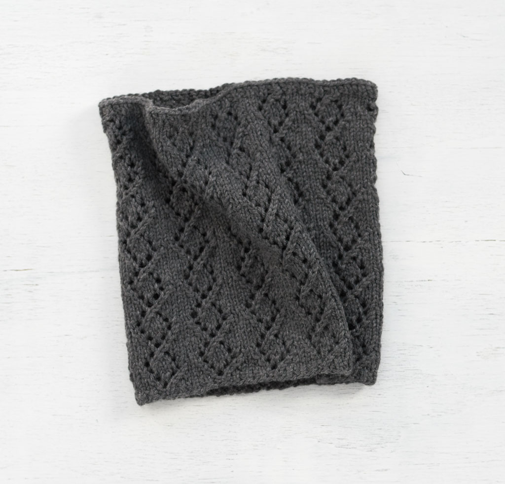 Gray Lacy Waverton Cowl Kit