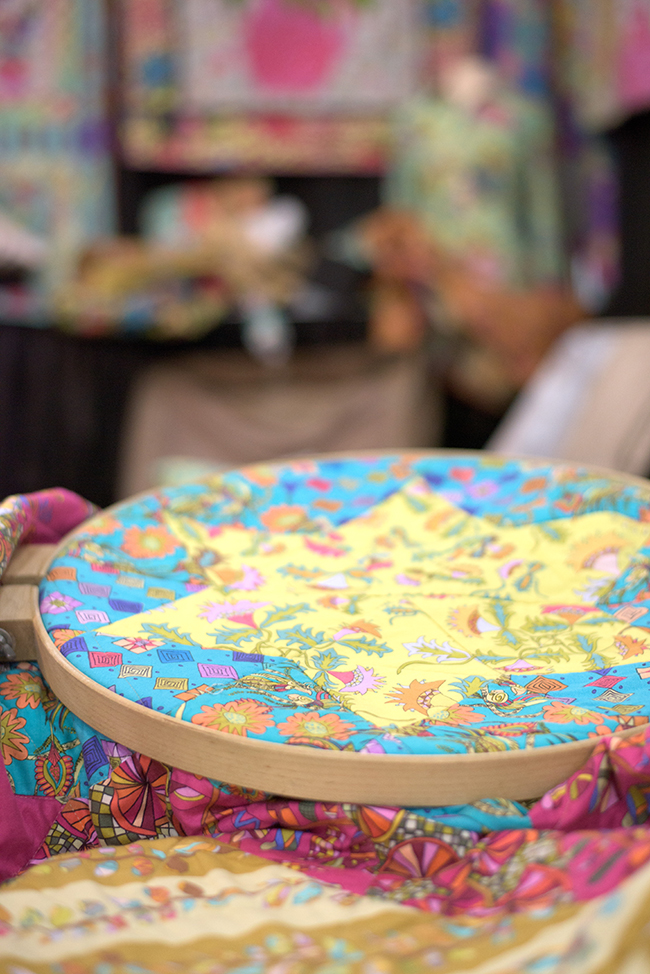 Kathy Doughty Fabrics at Quilt Market