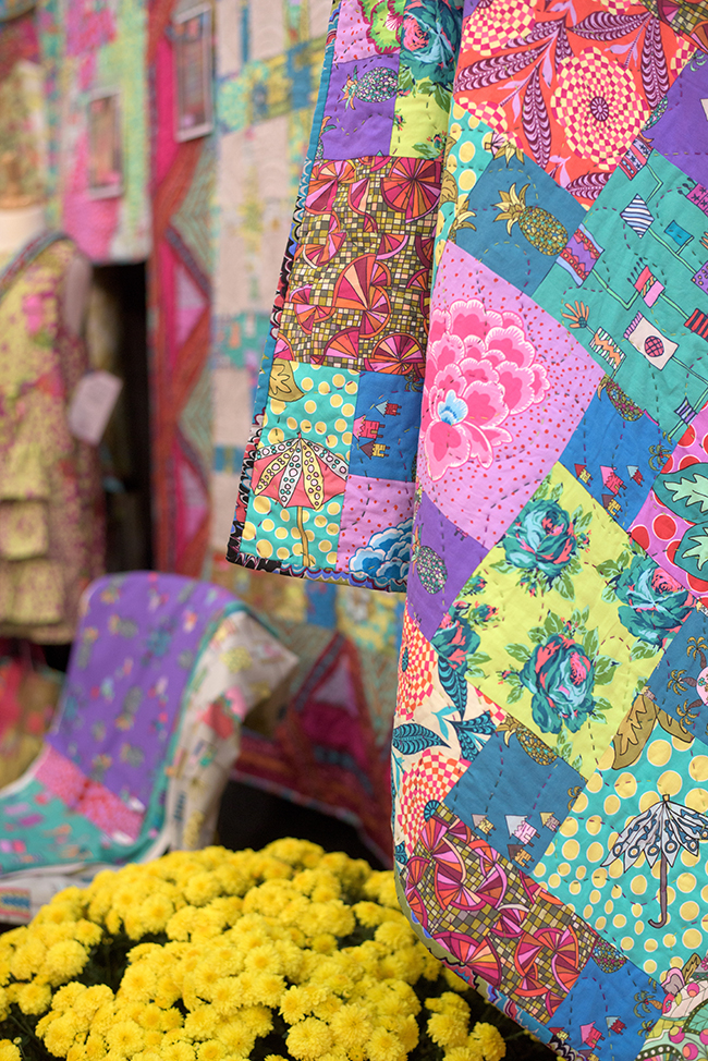 Kathy Doughty's Patchwork Quilt
