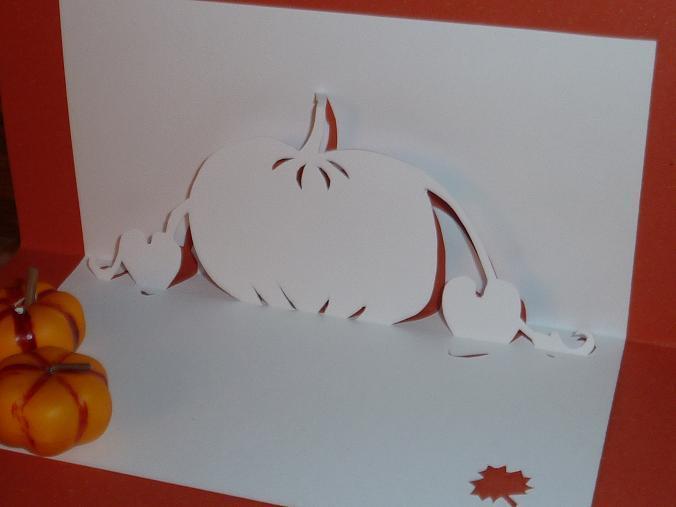 Kirigami Pumpkin