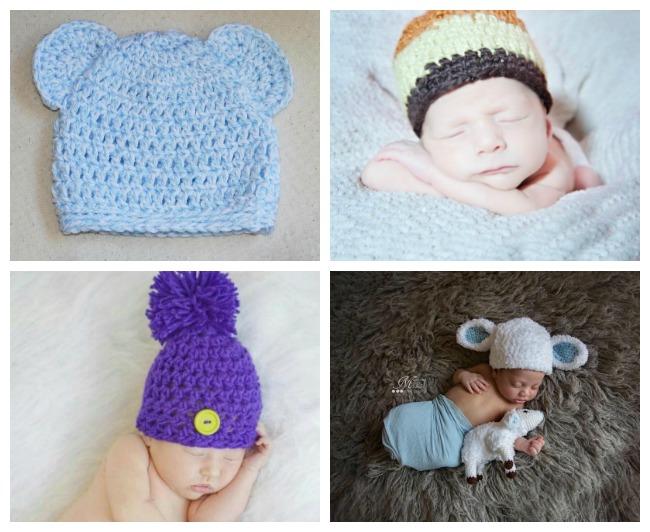 Newborn Crochet Hat Patterns
