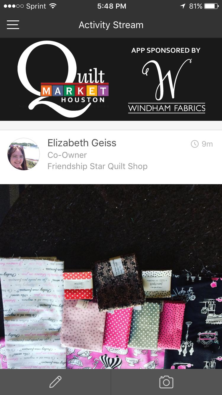 Quilt Market App