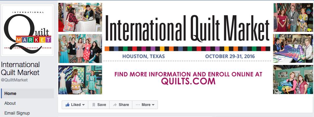 Quilt Market Facebook