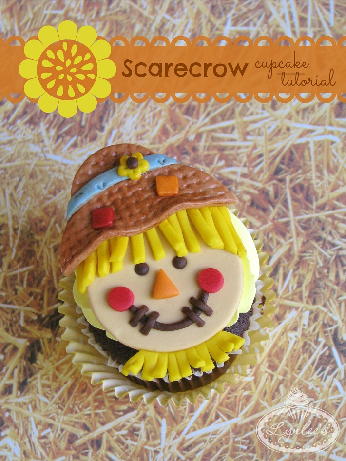 How to Make Sweet Scarecrow Cupcakes