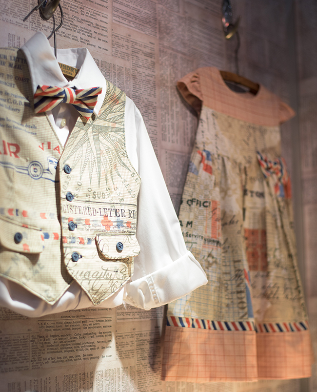 Kids Clothes Made With Tim Holtz Fabric