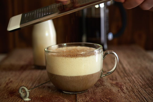 Top Eggnog latte