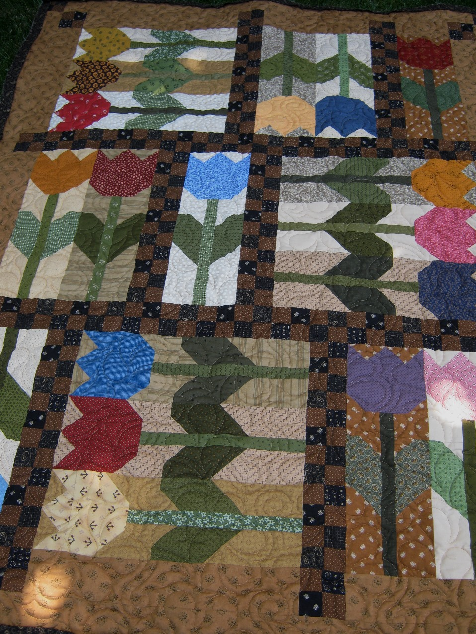 Tulip Crush Quilt pattern