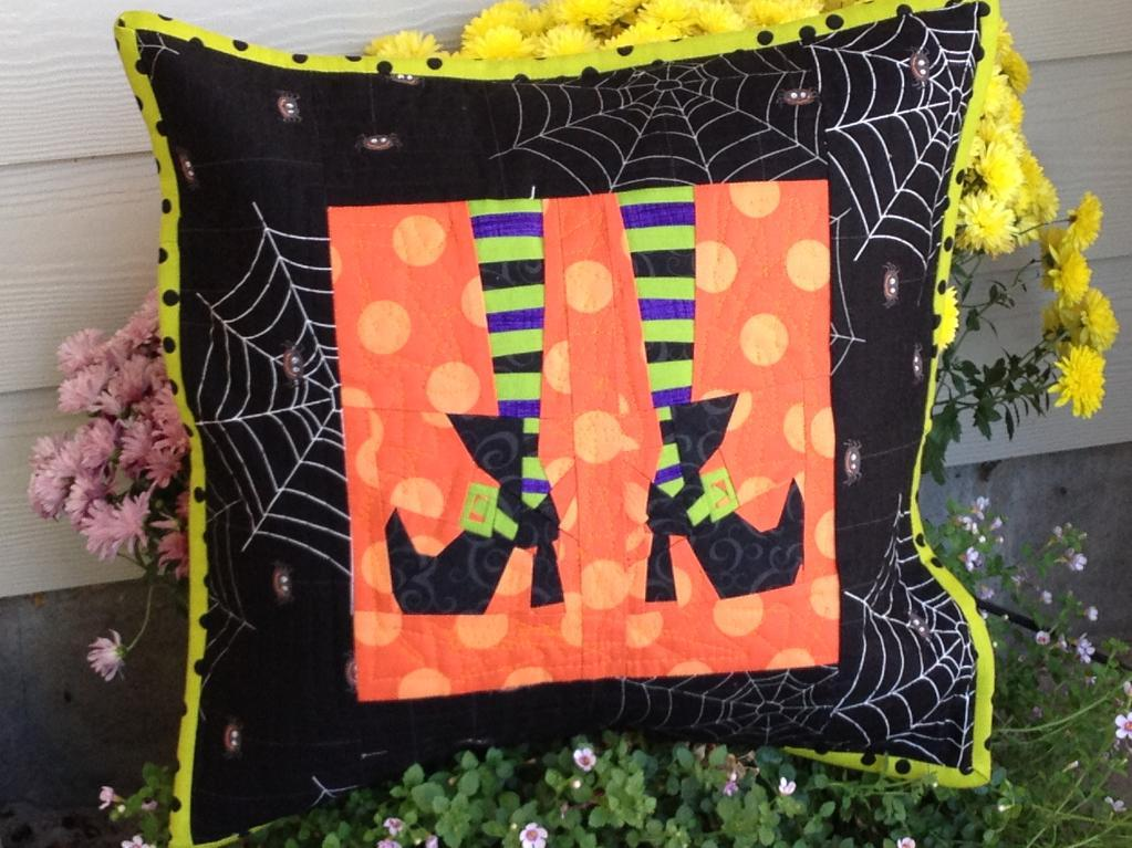 Witch Feet Quilt Block