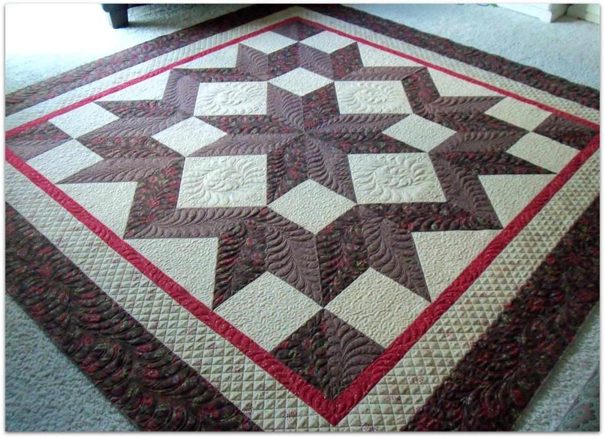 Fall Quilt Patterns: Carpenter's Star