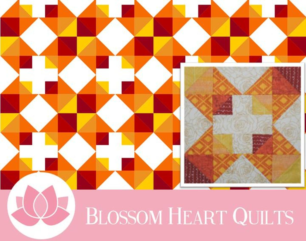 Fall Quilt Patterns: Autumn Chain