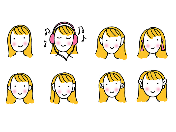 How to draw cartoon ears