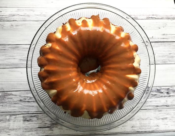 Mind-Boggling Chocoflan Cake
