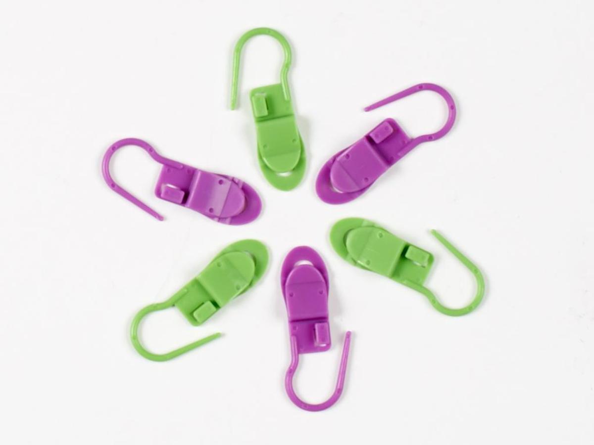 Clover Locking Stitch Marker