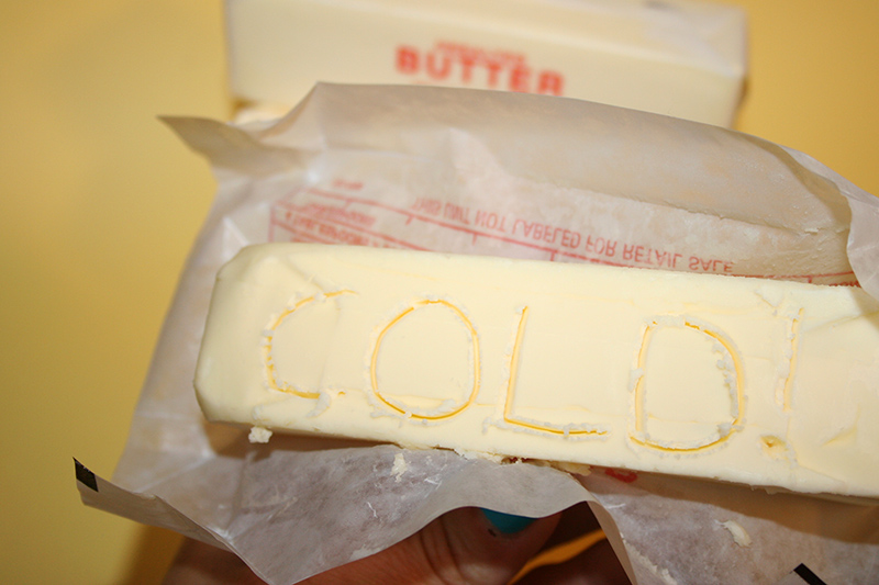 How to soften cold butter quickly