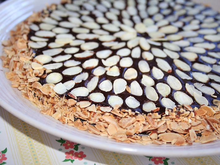 3 Ingredient Chocolate Ganache Tart