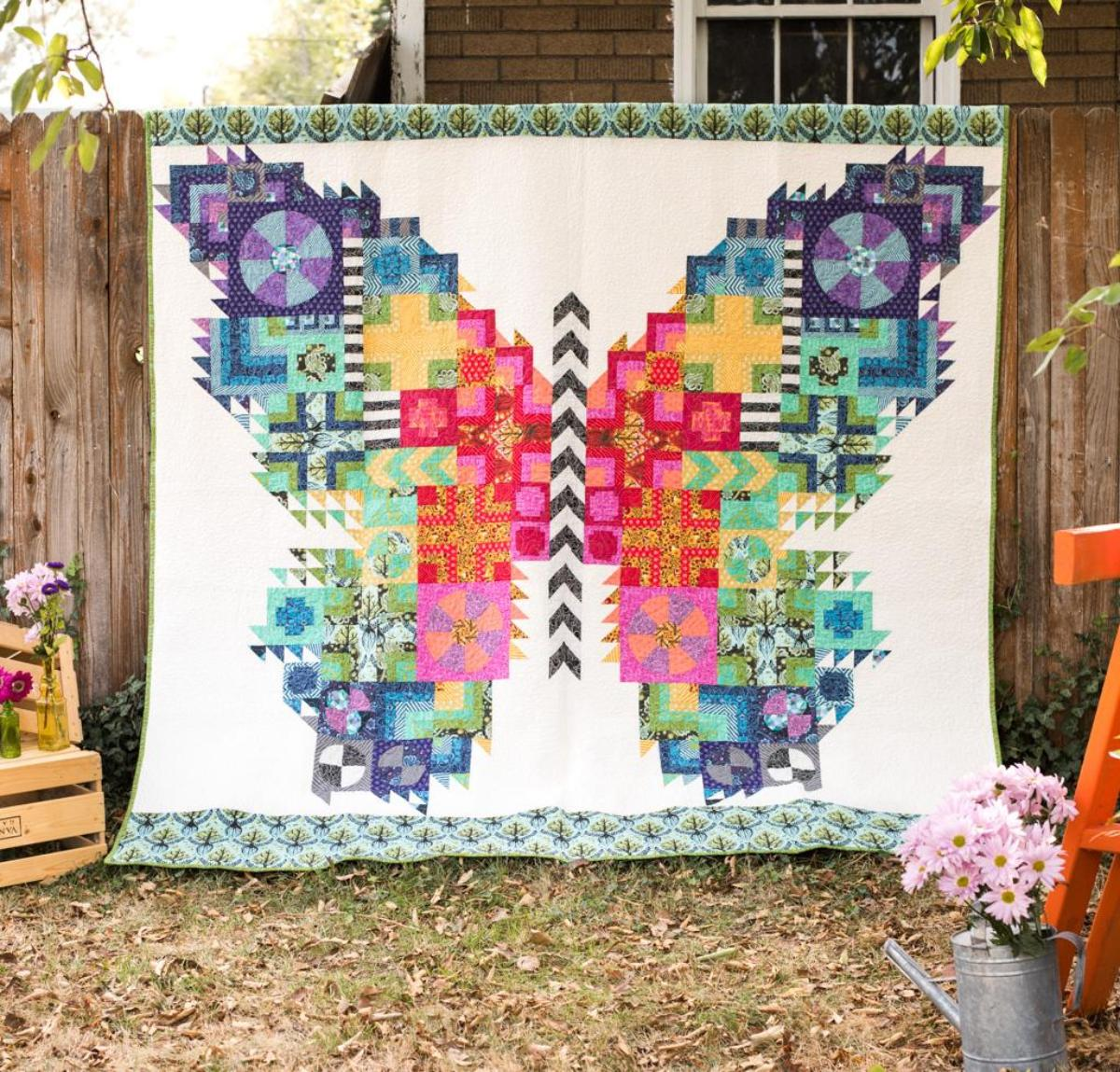 Butterfly Quilt Kit