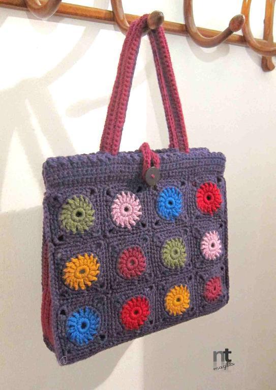 Bright Spot Tote Crochet Pattern
