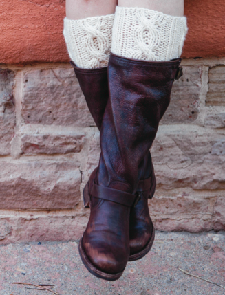 1 Hour Boot Toppers FREE Knitting Pattern