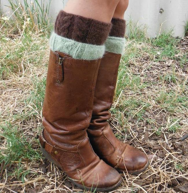 Twivey FREE Boot Cuff Knitting Pattern