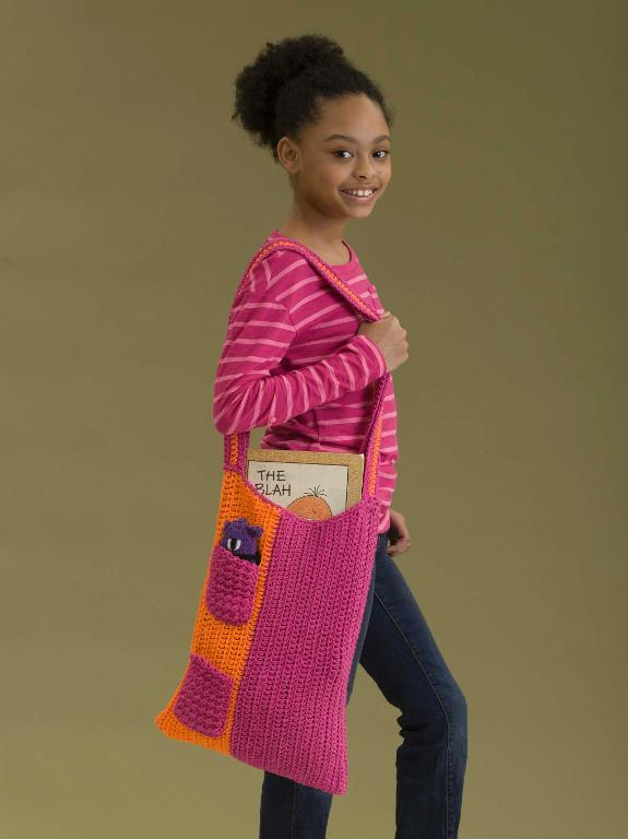 School's in Session Tote Crochet Pattern